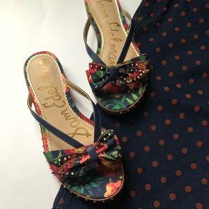 Sam Edelman Floral Dariel Slides / Sandals